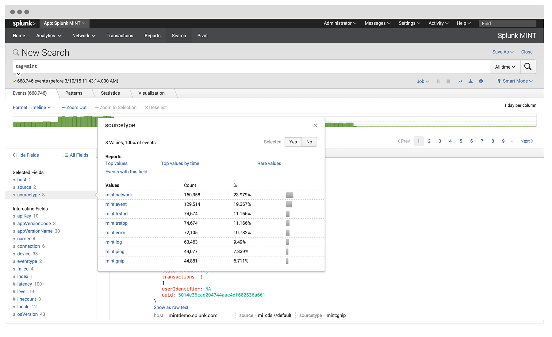 Splunk MINT | Mobile APM and Operational Intelligence for Android